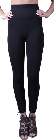 Fleece Lined Leggings- High Waist