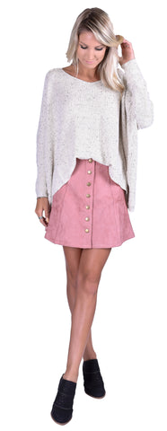 Frosty Tips Sweater - Pink