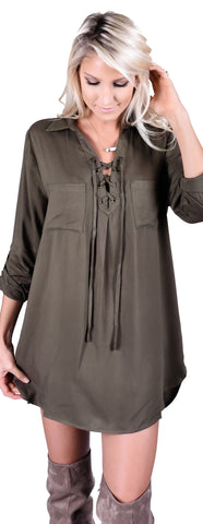Peter Pan Shirt Dress