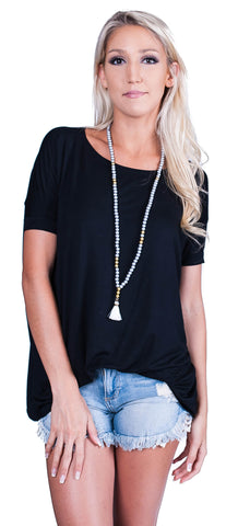 Piko Short Sleeve Top- 5 Colors