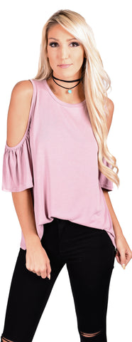 Rosie Cold Shoulder Top