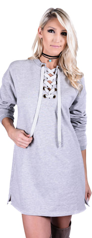 Saturday Chic Sweatshirt Dress