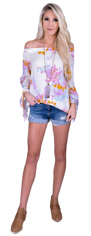 Spring Time Bloom Top