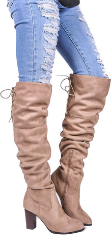 Strut Your Stuff Over The Knee Boot
