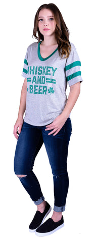 Whiskey & Beer Tee