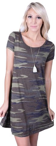 Z Supply Connor Camo Dress