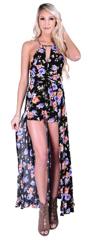 Heat Wave Maxi Romper