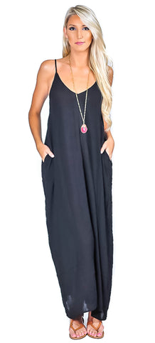 2 Pocket Maxi - Black