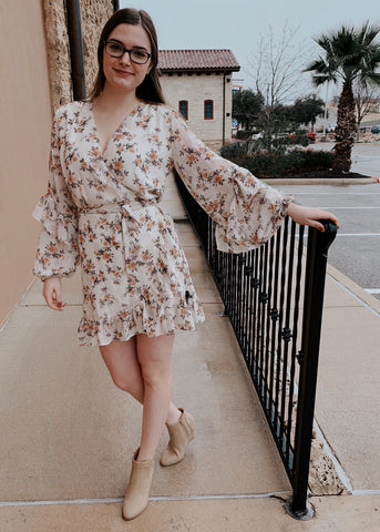 THAT'S A WRAP FLORAL DRESS