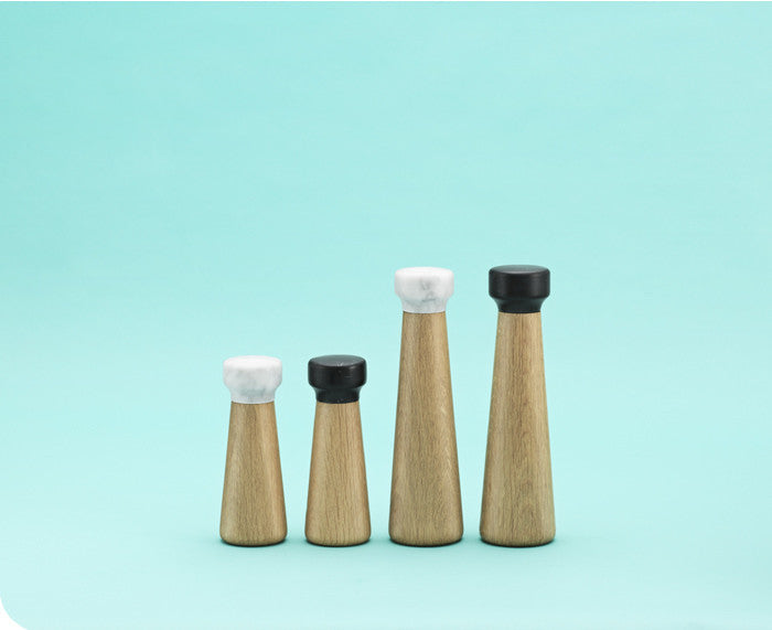 Craft Pepper and Salt Mills by Normann Copenhagen