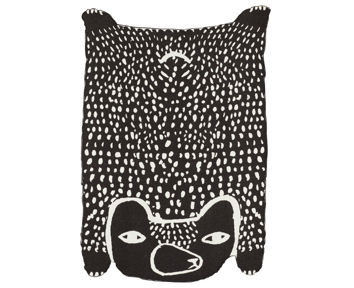 Bear Cotton Throw by Donna Wilson