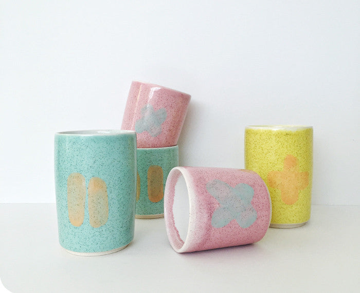 Cups and tumblers by Ben Fiess