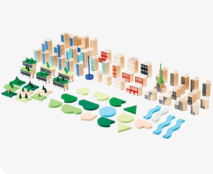 Blockitecture Big Apple Building Blocks by Areaware