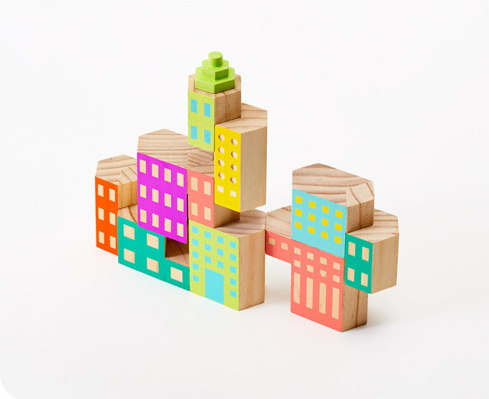 Blockitecture Deco Building Blocks by Areaware
