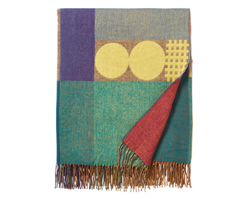 Carnival Lambswool Throw by Donna Wilson
