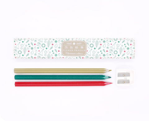 Christmas Pencils by Trinus