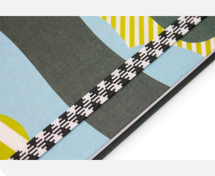 A5 Canvas Clouds Notebook by Papier Tigre