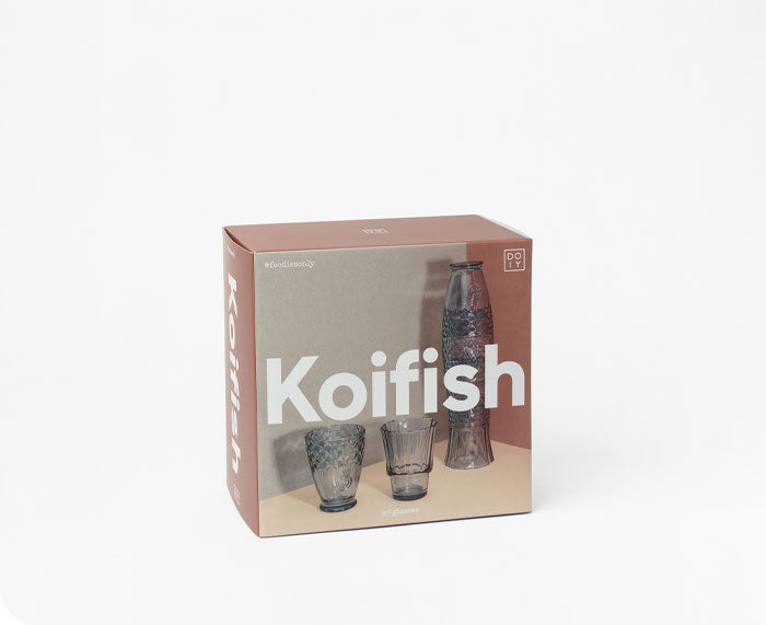 Koifish Stackable Glasses in Blue by DOIY