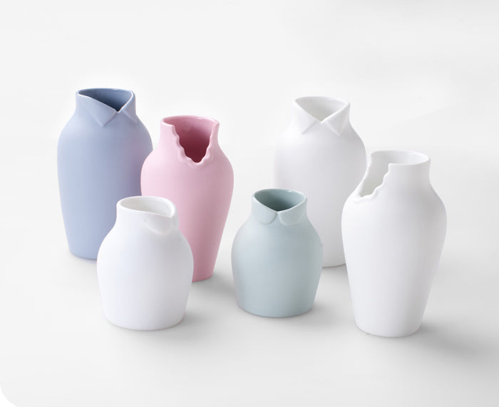 Dress Up Vases by Ceramic Japan