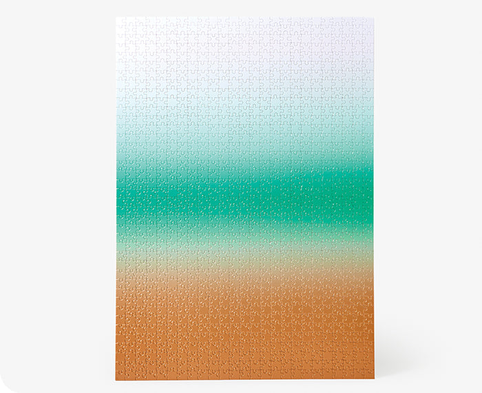 Gradient Puzzle - Large - by Areaware