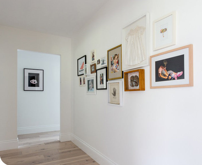 Gallery wall styled by Gretel Home