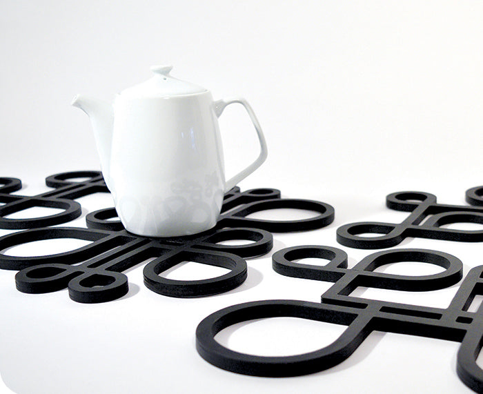 InsideOut Wood Trivet - Large - by Toma Objects
