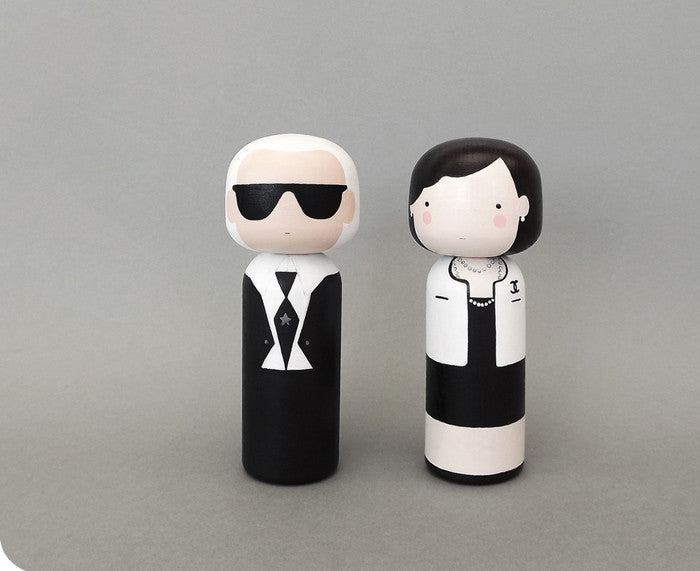 Kokeshi Dolls by Sketch Inc