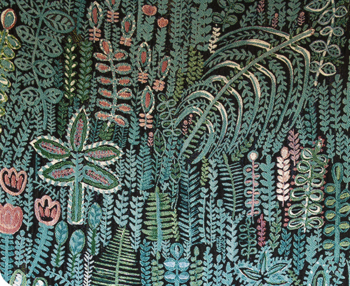 Lagoon Woven Blanket by Lucy Tiffney