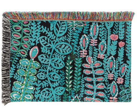 Lagoon blanket by Lucy Tiffney