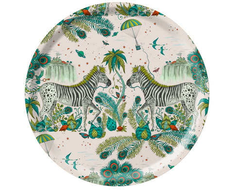 Lost World Round Tray by Jamida