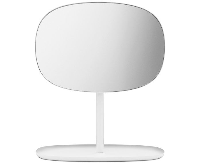 Flip Mirror in White by Normann Copenhagen