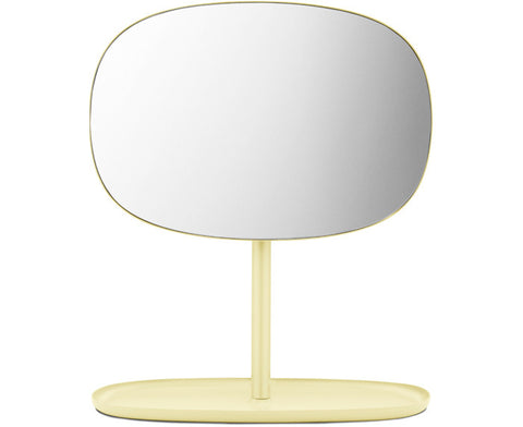 Flip Mirror in yellow by Normann Copenhagen