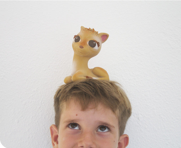 Olive the Deer Oversized Chewable toy by Oli & Carol