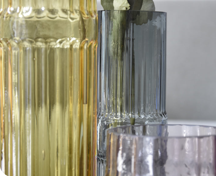 Ondin Glass Vases by Eno Studio group detail