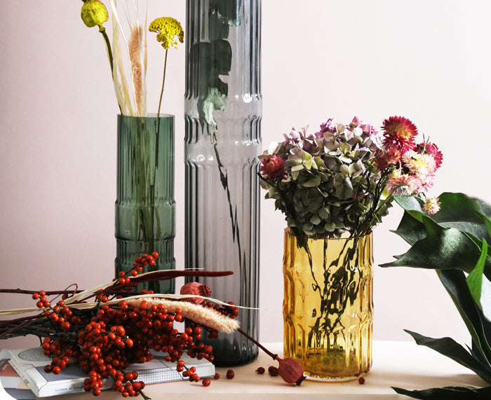 Ondin Glass Vases by Eno Studio group