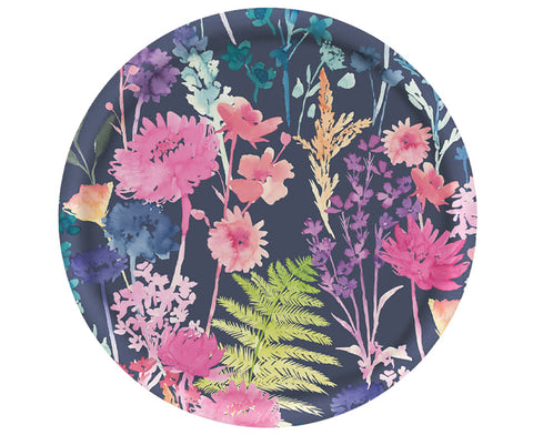 Peggy Round Tray by Bluebellgray