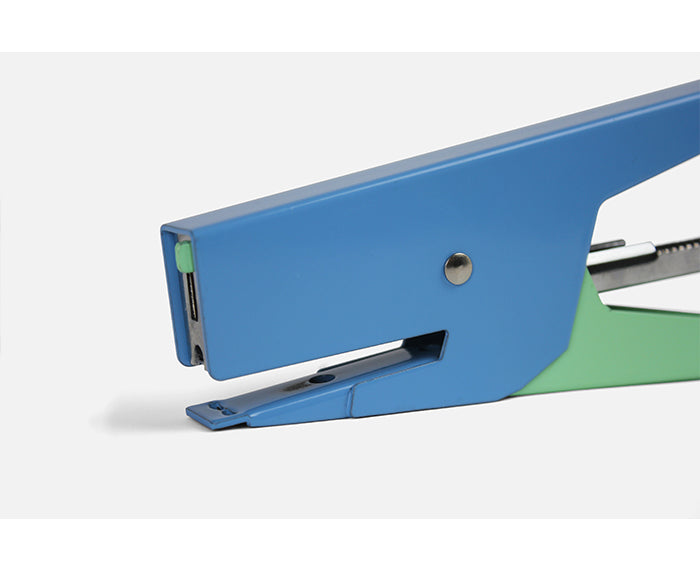 Stapler in Blue and Green by Papier Tigre