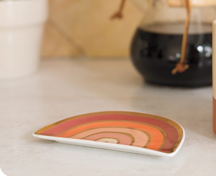 Solstice Trinket Tray by Danica Studio