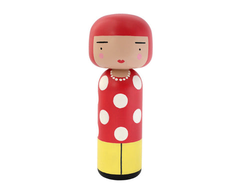 Dot Kokeshi Doll by Sketch.inc