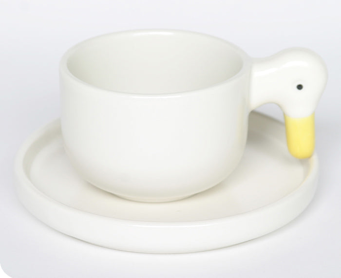 Arihu Duck Cup and Saucer by Ceramic Japan