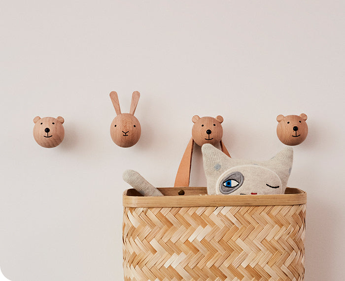 Animal Wall Hook - Bear - by Oyoy Living Design