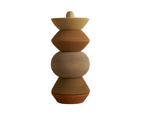 Ball Sculpture Stacking Tower by Raduga Grez