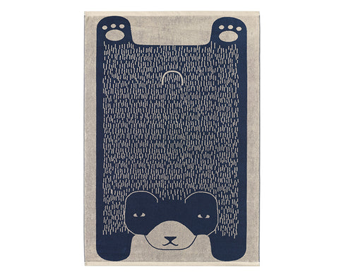 Bear Bath Towel by Donna Wilson