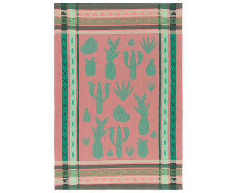 Cacti Dish Towel by Danica Studio