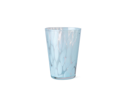 Casca Glass in Pale Blue by Ferm Living