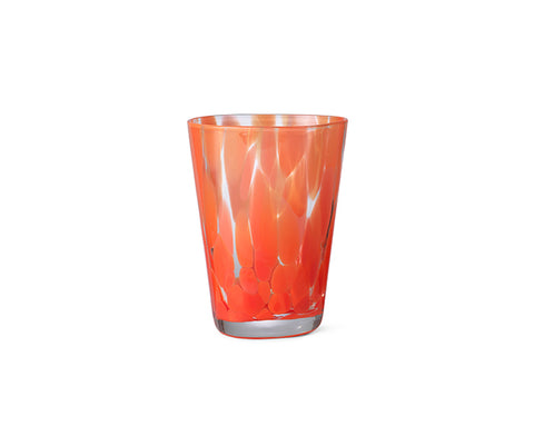 Casca Glass in Poppy Red by Ferm Living