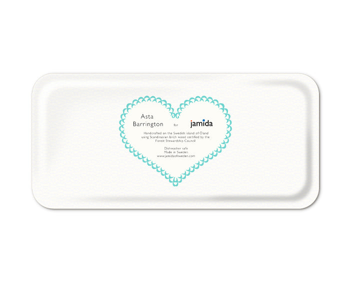 Word Rectangular Tray - Cheers - by Jamida