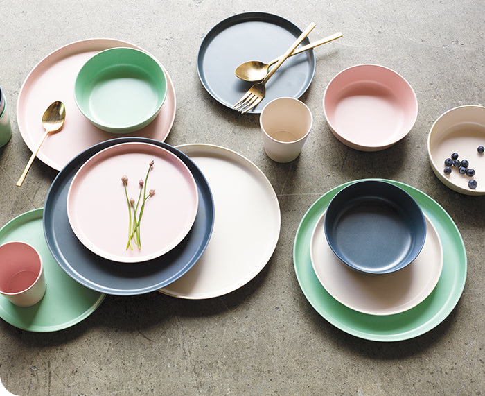 Ecologie Set of Four Side Plates by Now Designs