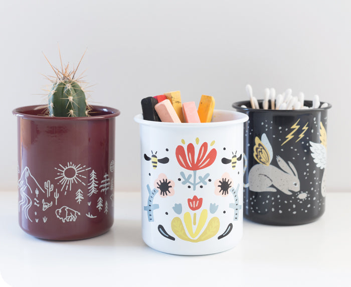 Frida Pencil Cup by Danica Studio