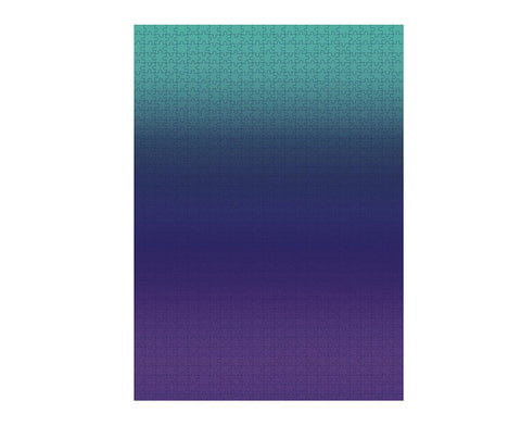 Gradient Puzzle - Large in Purple and Teal - by Areaware
